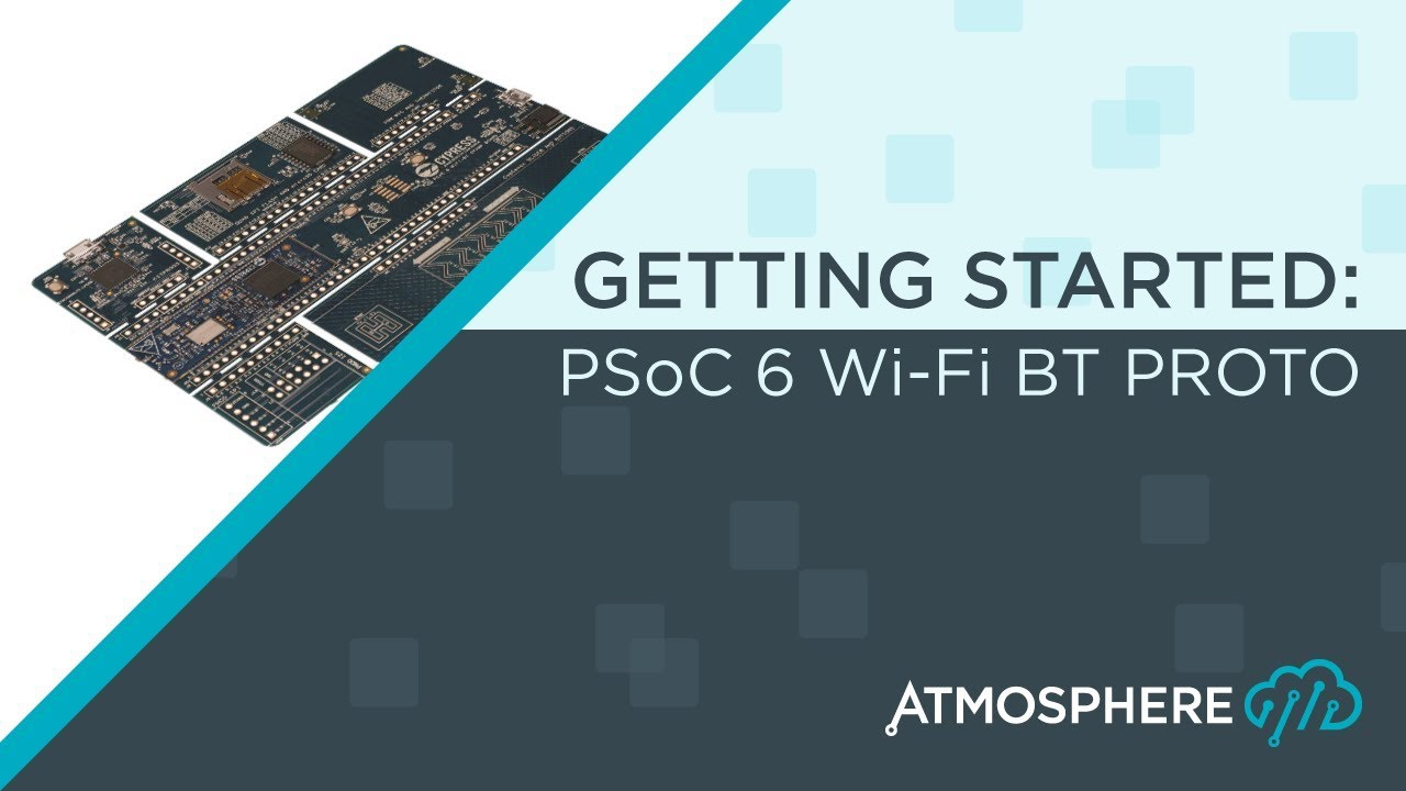 psoc 6 getting started thumbnail