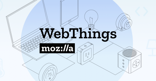 Atmosphere has integrated support for Mozilla's WebThings API and Gateway software standards.  Any Atmosphere IoT Studio user can enable an Esp