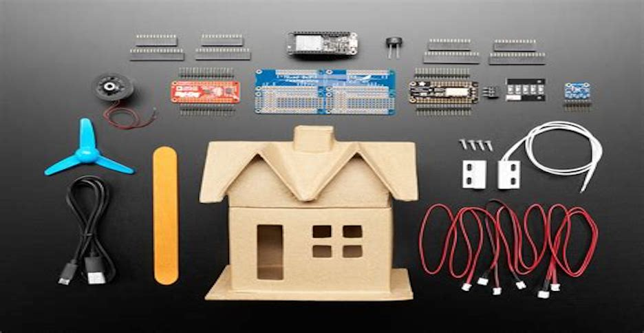 Adafradafruit-mini-iot-home-and-atmosphere-iot-studio